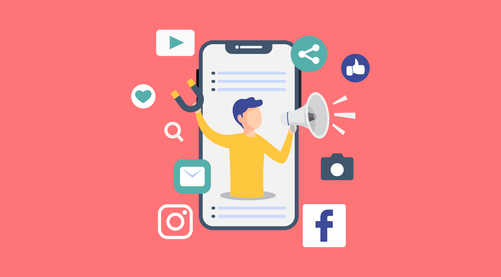 How to optimize your social media engagement Blog article visual - Digital Plant Sdn Bhd